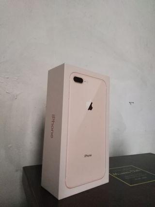 caja iPhone 8+ rosa