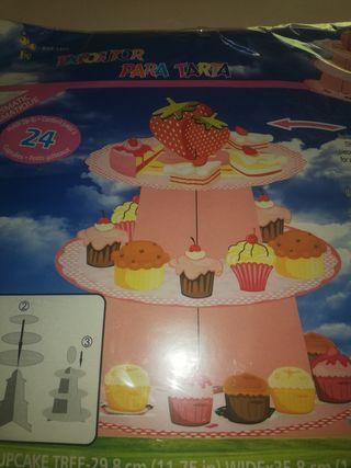 Expositor de tartas, muffins, galletas, etc....