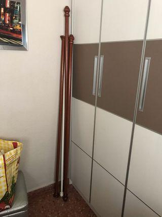 Lote de barras de cortina