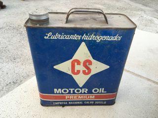 Lata aceite Calvo Sotelo antigua