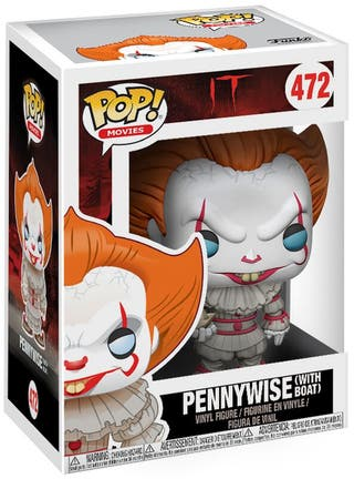 Funko Pop Pennywise with Boat 472.IT 2