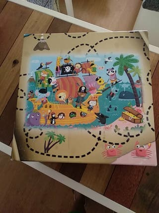 Puzzle piratas Ludattica