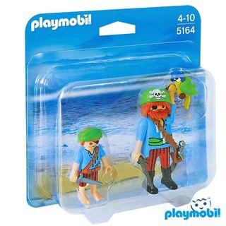 Lote playmobil piratas (5164, 6822, 6684)