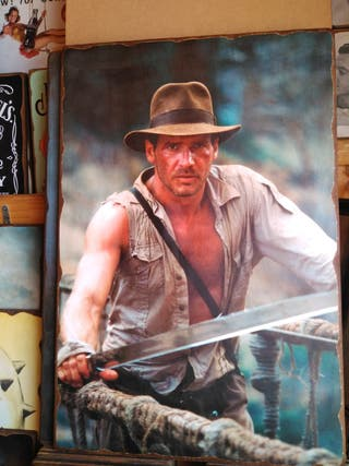 Cuadro de Indiana Jones