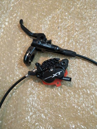 Freno delantero Shimano XT 8020 4 pistones