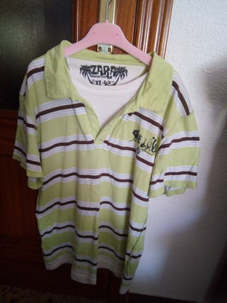 camiseta de ZARA chico/hombre