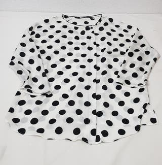 camisa de lunares