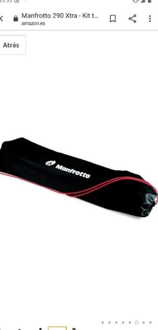 Manfrotto 290 Xtra + rótula 3 WAY -tripode ¡NUEVO!
