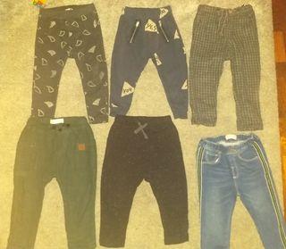 lote pantalones 18 a 24 meses 6 X 20e