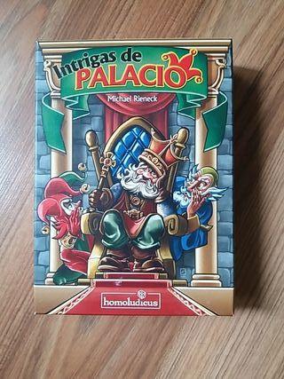 juego mesa intrigas de palacio