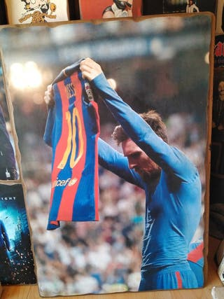 Cuadro de Leo Messi