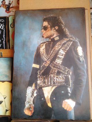 Cuadro de Michael Jackson