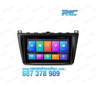 "NAVEGADOR LCD TÁCTIL 9"" MAZDA 6 ANDROID 8.1 CANBUS"