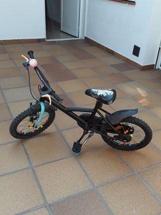 bicicleta para niñ@s 5 años , segunda mano