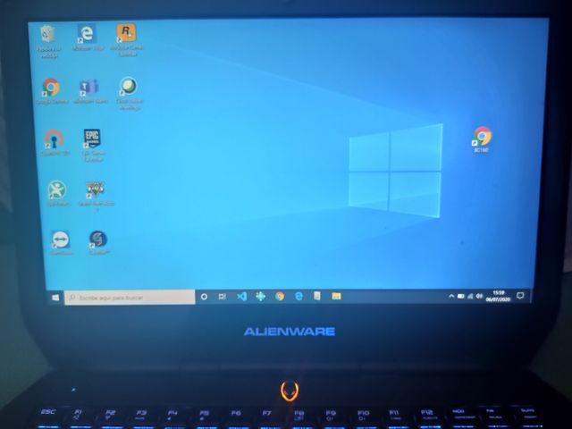 portátil gaming Alienware 13 2016