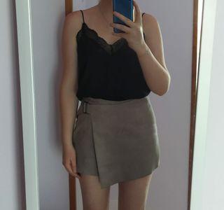 Falda-pantalón de Zara