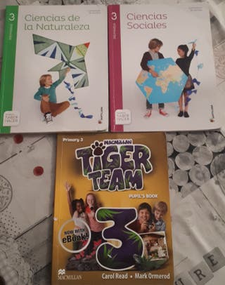 Libros 3 primaria.Santillana