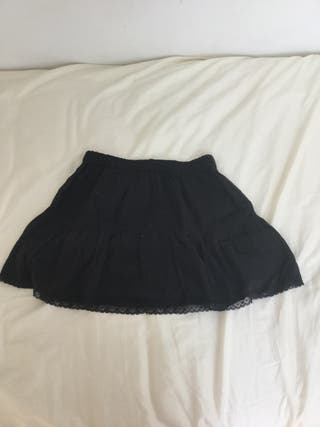Falda negra de Nícoli para niñas