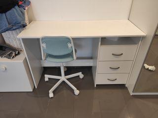 escritorio+silla infantil