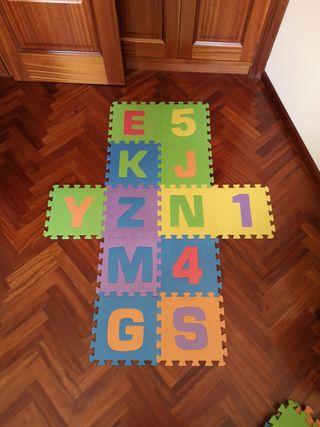 Alfombra puzzle infantil bebé suelo acolchado