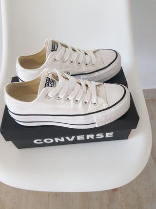 zapatillas converse plataforma originales