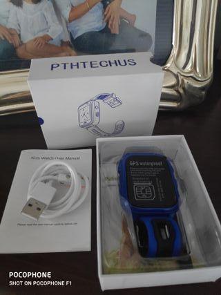 Reloj inteligente GPS para niño