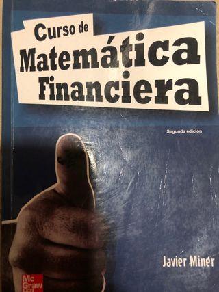 Libro curso matemática financiera