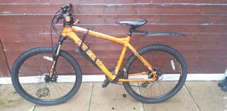 Mountain Bike Carrera Vengeance Orange