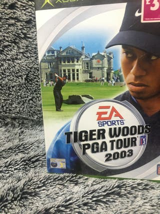 TIGER WOODS PGA TOUR 2003 X-BOX