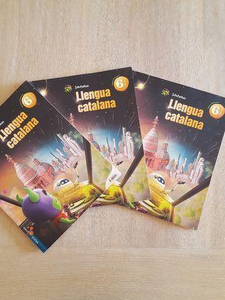 Libros Lengua Catalana 6 Primaria.