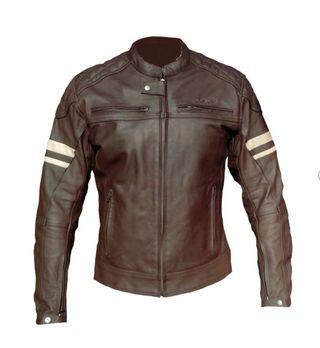 Cazadora chaqueta piel cuero moto A ESTRENAR