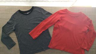 Lote camisetas niño T:4-6años.Ropa niño.