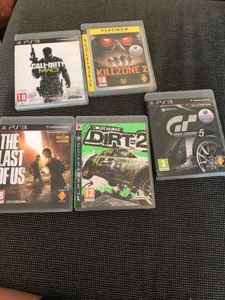 5 juegos de la PS3