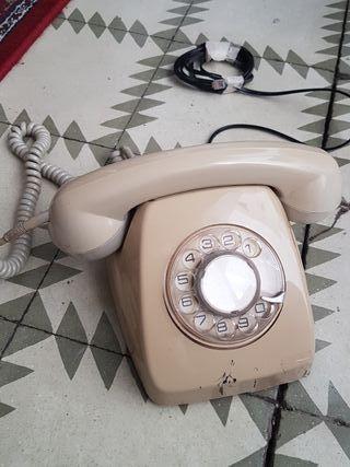 Telefono vintage antiguo