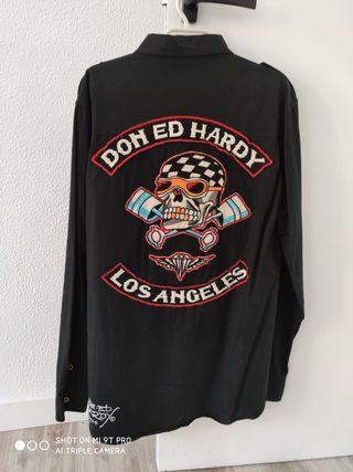 camisas ed hardy talla M