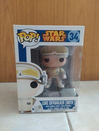 Funko Pop Star Wars #34 Luke Skywalker Hoth