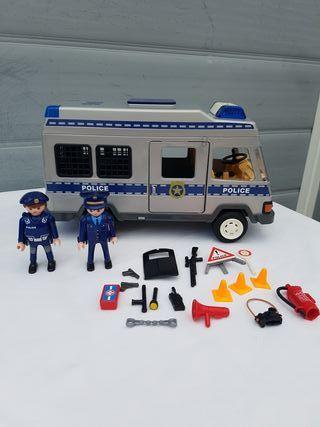 Playmobil 4023 furgón policia
