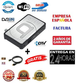 Qviart Mini 2 Nuevo Receptor Satelite Factura 24H