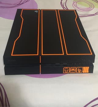 PS4 personalizada Black Opps 3 1T