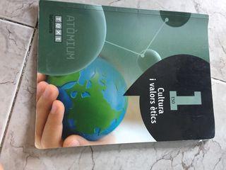 Libro cultura i valors ètics 1ESO