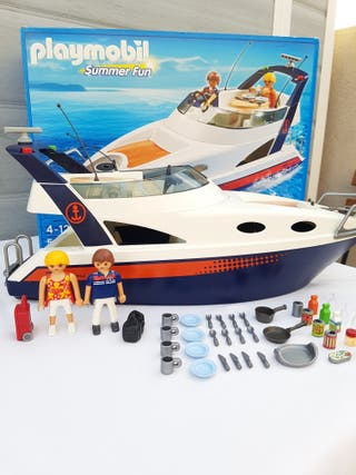 Playmobil 5205 yate lujo