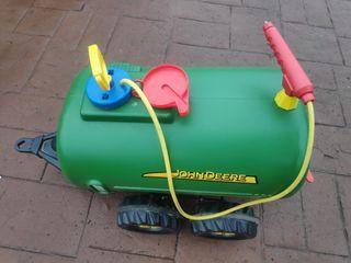 Cisterna para tractor John Deere niños oficial.