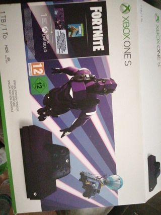 Xbox one s edición limitada fornite