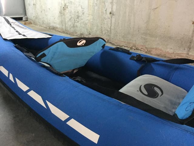 Kayak hinchable SEVYLOR DECATHLON