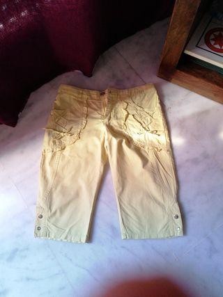 pantalones vaqueros largos ( amarillo)
