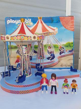 Playmobil 5548 carrusel columpios
