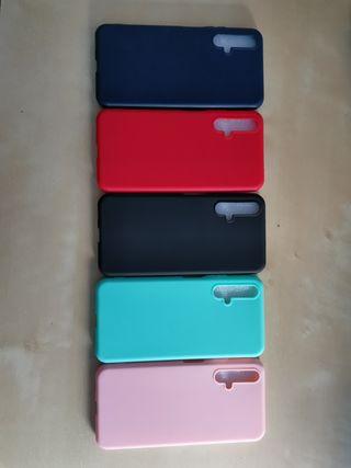 Fundas de colores para Huawei Nova 5T