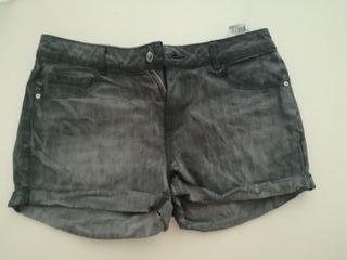 Pantalon vaquero corto mujer