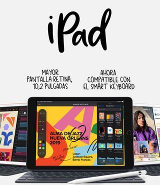 """iPad 2019 10.2"""" 32GB WIFI PRECINTADO!!!"""