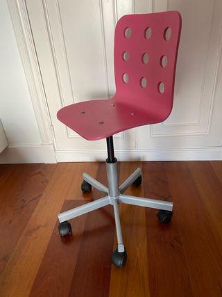 Silla de escritorio para niña